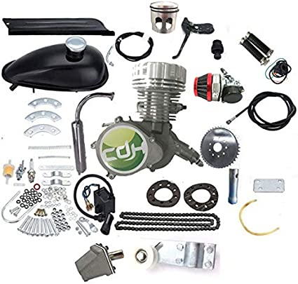 Zeda 80CC Dio Reed OKO Carburetor 2 Stroke Motorized Bicycle window Piston Upgra