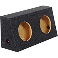 Rockville RQJ10 Jeep Wrangler Dual 10 MDF Sealed Subwoofer Sub Box Enclosure