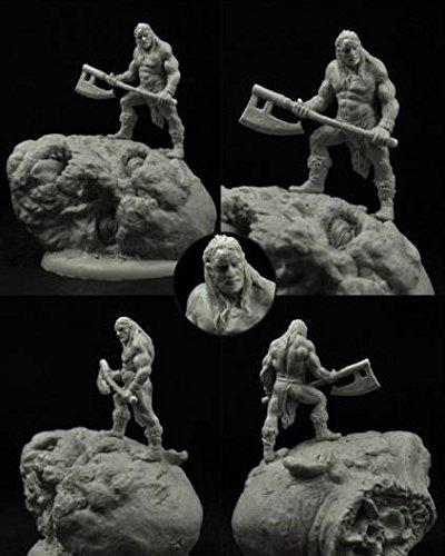 Fantasy Miniatures - Barbarians & Wild Hunters Extremely Barbaric Barbarian