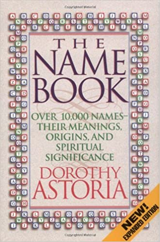 Name Meanings Book