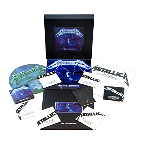 Vinilo : Metallica - Ride the Lightning (Deluxe Box Set) (Oversize Item Split, With CD, With DVD, Patch, Boxed Set)