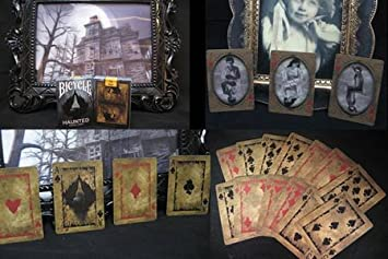 Bicycle Self Rising Playing Card Haunted Deck Gimmick Easy Card Trick