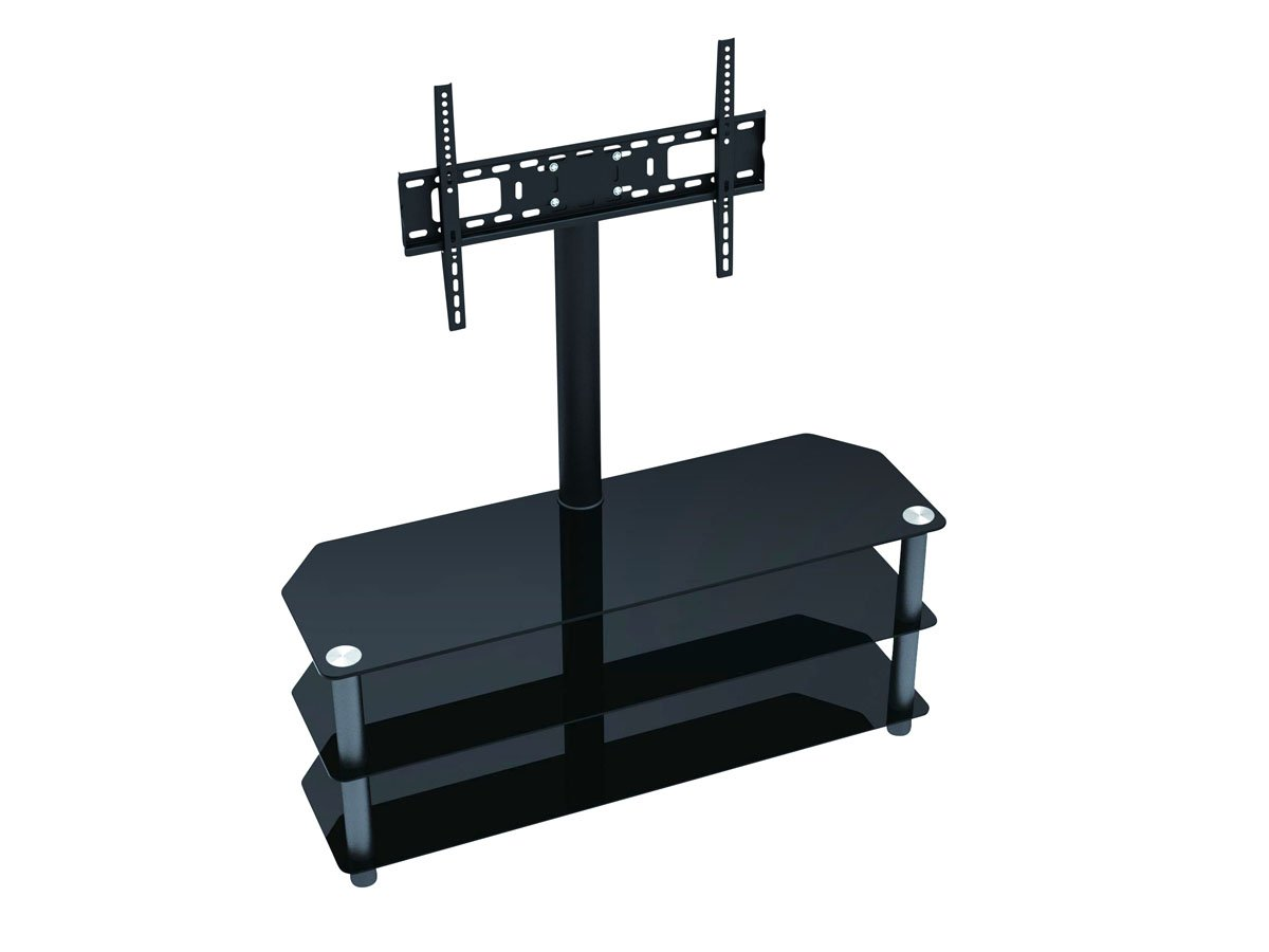 amazon com monoprice 110906 tv stand with mount for flat panel