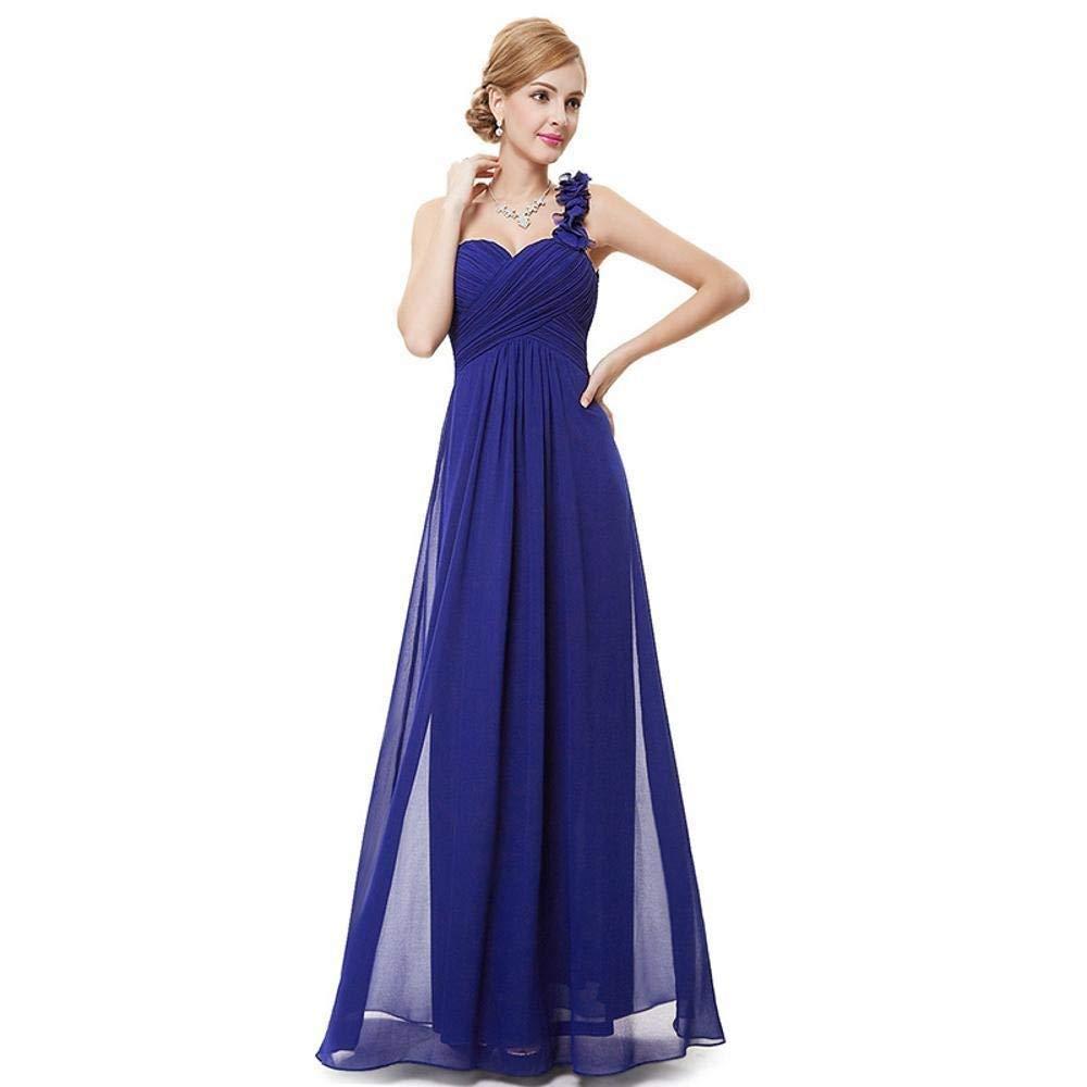 Sexy Tulle OneShoulder Evening Gown, High Waist Slim Fit, Hem Loose Formal Evening Dress, Cocktail Dress Skirt, Back Zipper, Elegant Atmosphere (Size   XXXL)