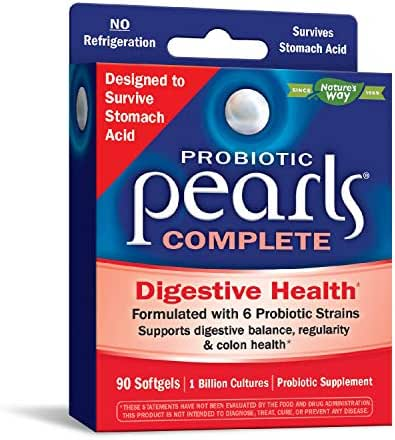 Nature's Way Probiotic Pearls Complete (Formerly Pearls IC) (Packaging May Vary)
