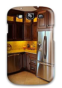 Cherry Cabinets And A Charging Station Fashionable Phone Case For Galaxy S3 With High Grade Design