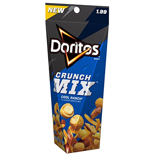 8 Pack of Doritos Crunch Mix Cool Ranch Flavored Snack Mix Only $11.69