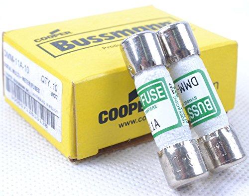 2 Pcs Dmm-b-11a Buss Fuse Amp for Fluke Digital Multimeter Bussmann 1000v