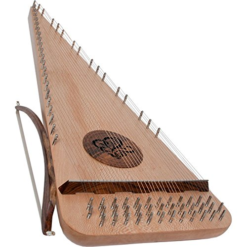 Roosebeck Baritone Rounded Psaltery - Left Hand by Roosebeck