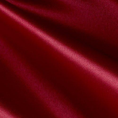 Ben Textiles Inc. Mi Amor Duchess Satin Dark Red Fabric By The (Peau Satin Dress)