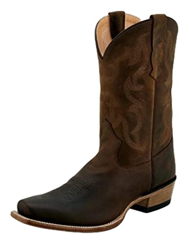 0239d9cddbd78 Amazon.com | Old West Boots Men's Mesa Brown Apache 11 EE US | Western