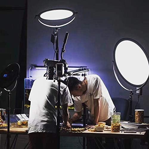 Flash Bracket 330 LED Varicolor Ultra Slim Photo Video Light