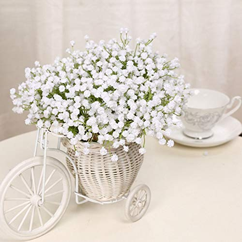 Artificial Flowers - 6pcs Set Mantianxing Star Flower Artificial Flowers Decoration Valentine 39 S Day Gift Free - Mint Geranium Kitchen Baskets Water Grey Outside Mixed Hydrangea Arrangements (Hydrangea Gift Basket)
