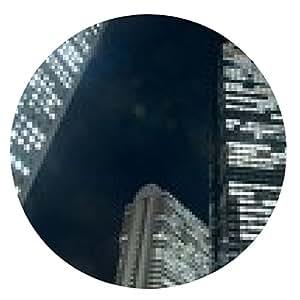 alfombrilla de ratón Noche de Metropolis - ronda - 20cm