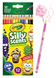 Crayola Silly Scent Pencils, Scented Colored Pencils, Gift for Kids, 12Count