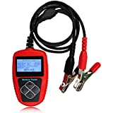 Quicklynks Auto Battery Tester BA101 Automotive 12V Vehicle Battery Analyzer Based on JIS, EN, DIN, SAE and IEC Standards