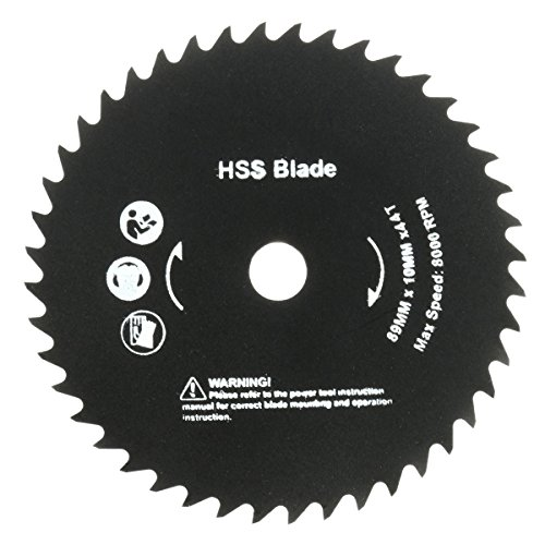 Best to Buy New 89mm 10mm Hole 44 Teeth HSS Circular Saw Blade Cutting home depot circular saw blades 7 1 4 inch dremel trio tool kit three combo 3000 3 rotary single speed mini cordless worm box