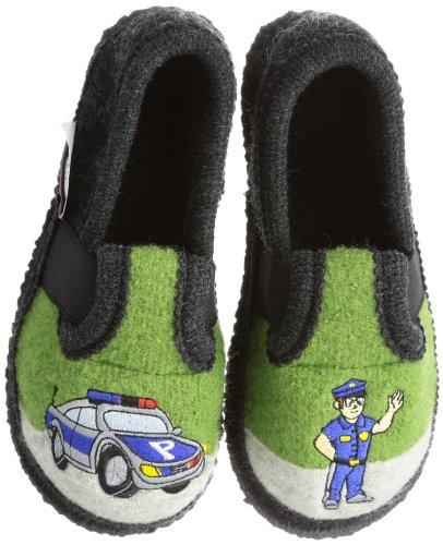 Kitz - Pichler Bobby Polizei - Caña baja de lana niño Grasgrün 9611