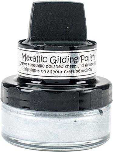 Creative Expressions CSMGSILVER Metallic Gilding Polish, Silver Dream