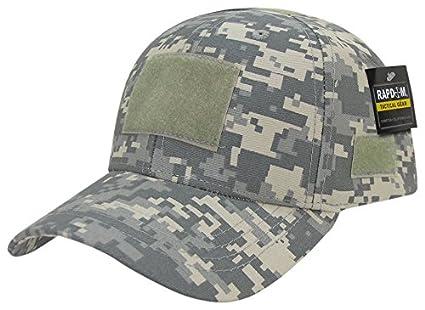 846461e650ec1 Amazon.com   Rapdom Tactical Low Crown Structured Cap