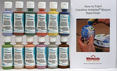 duncan-cnkit-3-concepts-underglaze-paint-set-12-best-selling-colors-in-2-ounce-bottles-with-free-how