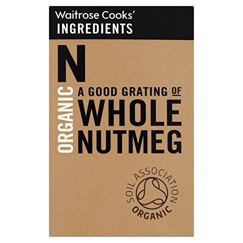 Cooks' Ingredients Organic Whole Nutmeg - 35g (0.08lbs)