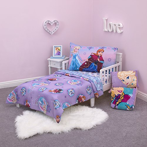 Disney Frozen Stirring Up Fun 4 Piece Toddler Bed Set