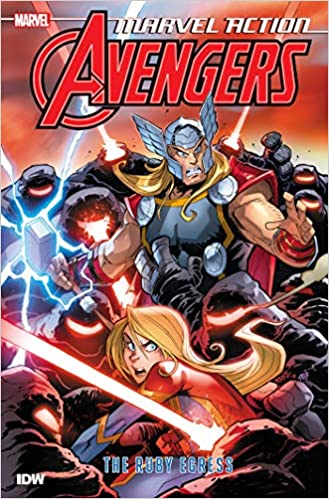 Amazon com: Marvel Action: Avengers: The Ruby Egress (Book