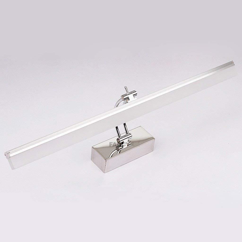 Mirror Lamps Home Spiegellampen LED-Spiegelscheinwerfer (Farbe   Weiß-80cm)