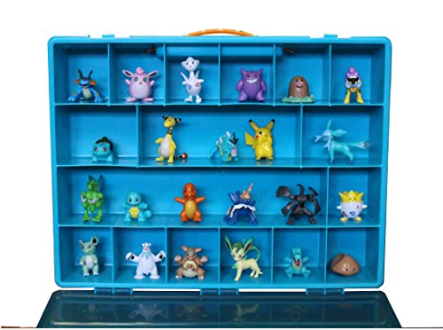 Fun Collector (Fun for Life Pokemon TM Compatible Organizer Storage Case - Pefect Compatible Toy Figure Storage Box - Large Sturdy Case And Carrying Handle)