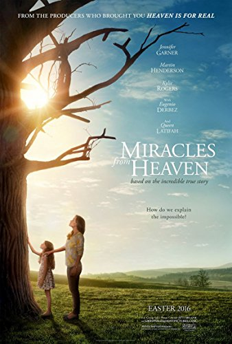 Miracles from Heaven Movie Poster 18'' X (Heaven Movie Poster)