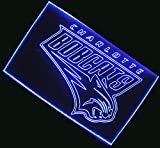 NBA Charlotte Bobcats Team Logo with (16 kinds of Colors flashing mode+remote control) Neon Light Sign