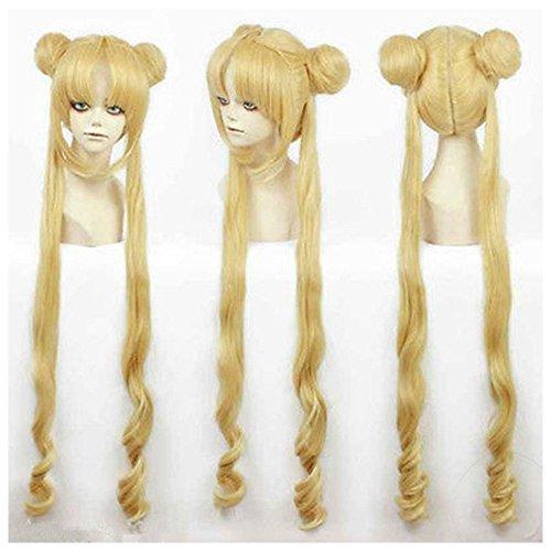 Princess Serenity Costume (Girl Sailor Moon Cosplay Costumes Wig Tsukino Usagi And Princess Serenity wig)