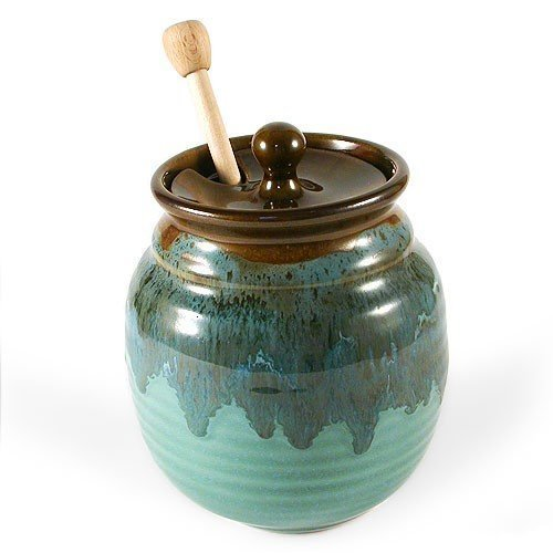 Clay In Motion Honey Pot, best beekeeping gift for home