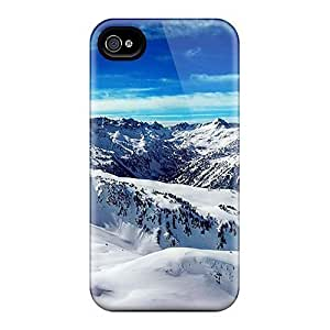 Ice Mountains Blue Sky Cases Compatible With Samsung Galaxy S5 I9600/G9006/G9008 Hot Protection Cases Kimberly Kurzendoerfer