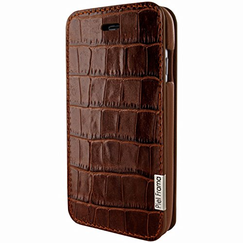Piel Frama Wallet Case for Apple iPhone 6 / 6S - Crocodile Brown by Piel Frama