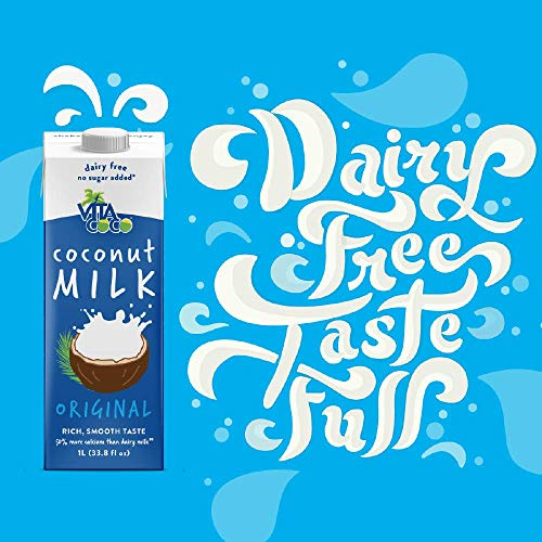 Vita Coco Coconut Milk, Unsweetened Original