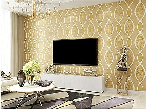 Camere A Righe : Xzzj moderno minimalista parete video stereoscopico 3d non tessuto