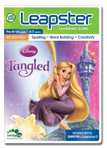 LeapFrog NEW! Leapster Learning Game: Disney Tangled - Theme