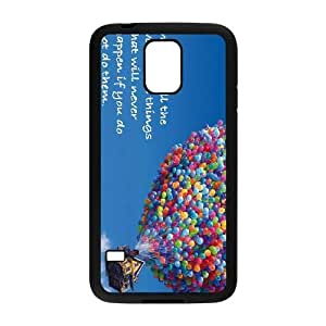 Samsung Galaxy S5 I9600 Cover Cell phone Case Adventure Is Out There Bkqcr Plastic Durable Cases