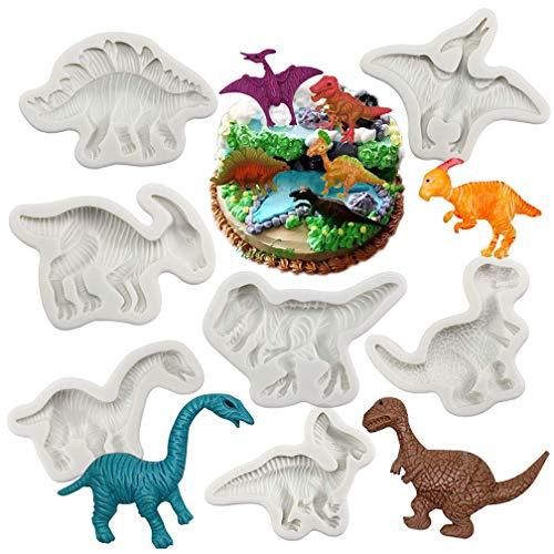 Dinosaur Cake Pops - Dinosaur Fondant Molds Silicone- Yawooya Large