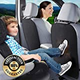 RED Sheild Universal Car Seat Back Protector, Child Kick Guard Mat, Protects Automotive Leather and Cloth Seats from Dirt, Scuffs, and Scratches, for Cars Trucks and SUVs [2 PK]