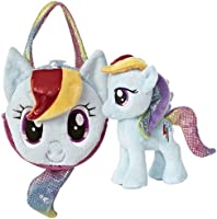 Aurora World My Little Pony Rainbow Dash Pony Tail Carrier (Colors May Vary)