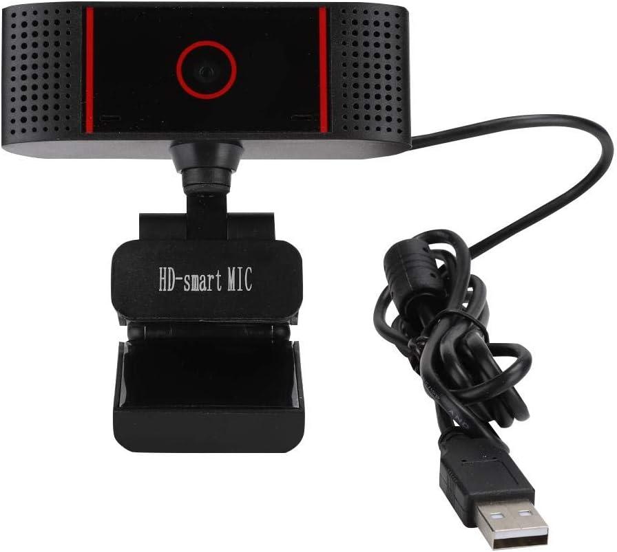 PC HD USB PC Webcam Web Cam Camera Horizontal 360 /° Vertikal 180 /° Drehen Computer Webkamera f/ür XP Tonysa HD Webcam Windows Vollsystem und Android Linux