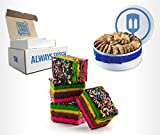 Fresh Baked Rainbow Cookies | Gimmee Jimmy's Cookies- 4 Pounds of Authentic Rainbow Cookies in a Beautiful Gift Tin