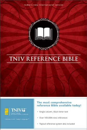 TNIV Reference Bible (Bible TNIV) - Bonded Leather, Black