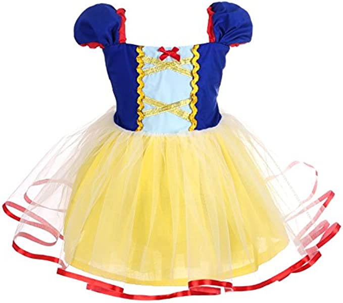 Dressy Daisy Princess Costumes Birthday Fancy Halloween Xmas Party Dresses Up for Baby Toddler Little Girls