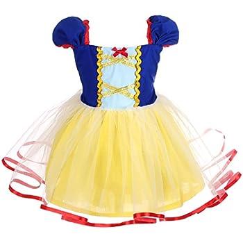 DG50487W Morris Costumes Infants /& Newborns Disney Snow White Dress Gold 12-18