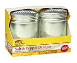 Tablecraft H157BH Salt and Pepper Dredge Set