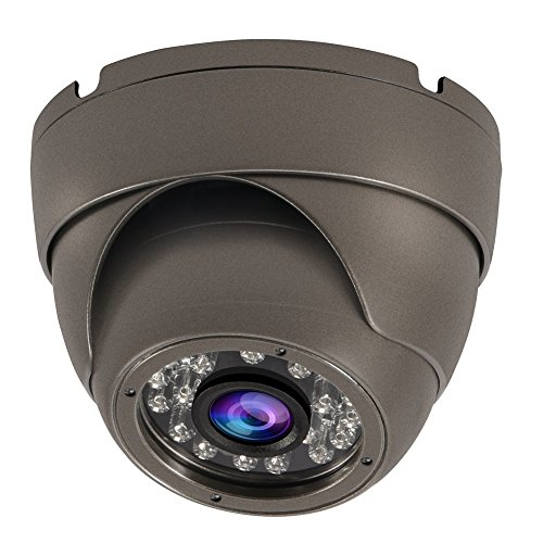 CrazyFire 1080P HD-SDI Dome Security Camera Outdoor/Indoor Surveillance Camera 24 LED IR Night Vision IP66 Waterproof CCTV Video Camera